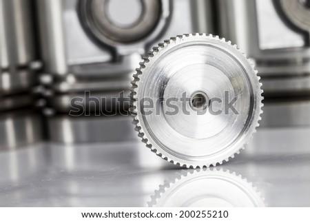 gears industry - stock photo