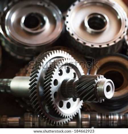 gears parts for the automotive repair industry.