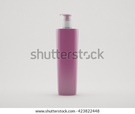 Gel, Foam Or Liquid Soap Dispenser Pump - stock photo