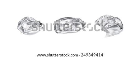 Gel isolated on white  - stock photo