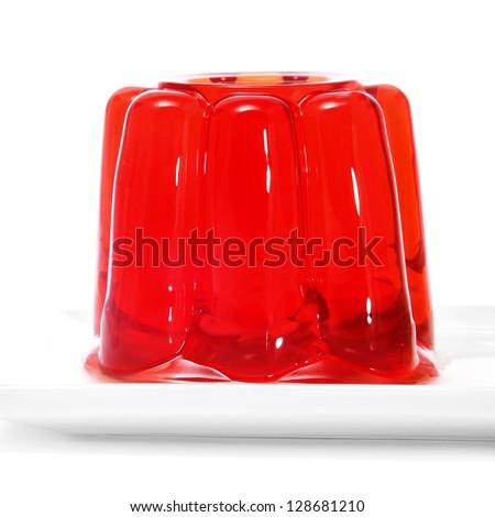 gelatin - stock photo