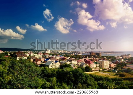 Gelendzhik resort city. Russia. Krasnodar region - stock photo