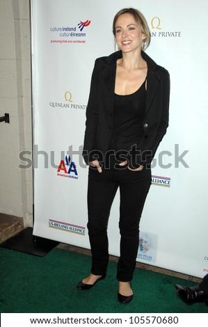 Gemma Hayes at the US-Ireland Alliance Pre Academy Awards Gala. Ebell Club, Los Angeles, CA. 02-19-09 - stock photo