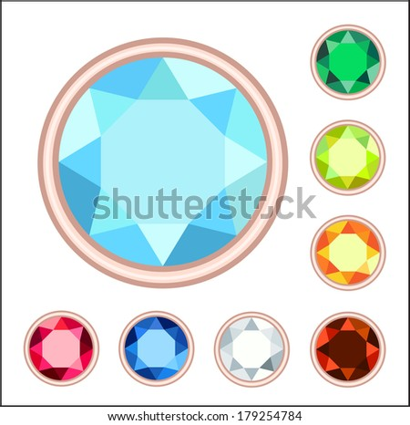 gemstone set