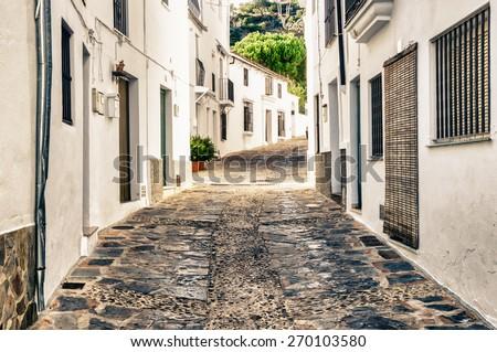 Genalguacil, Malaga, Spain - stock photo