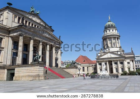 Gendarmenmarkt Berlin, Germany