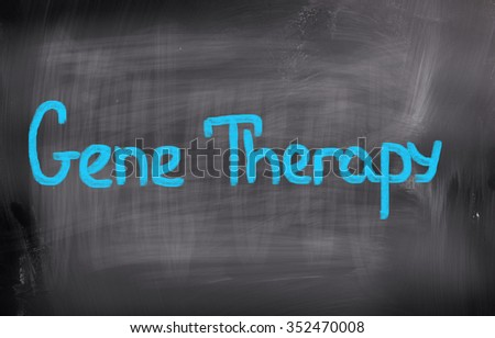 Gene Therapy Concept