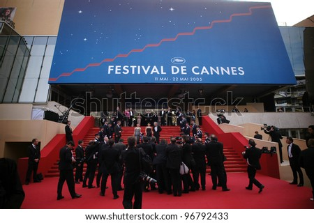 General atmosphere at the 58th Annual Film Festival de Cannes. May 15, 2005 Cannes, France.  2005 Paul Smith / Featureflash