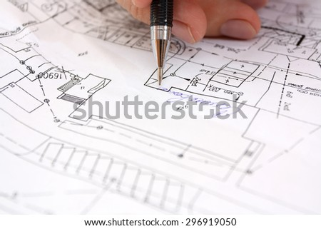 general drawing - stock photo