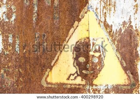 Generic High Voltage Danger Sign - stock photo