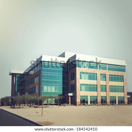 Generic modern building - stock photo
