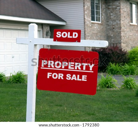 Generic real estate sign