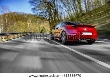 Sports Car Stock Images RoyaltyFree Images Vectors Shutterstock - Sport car driving