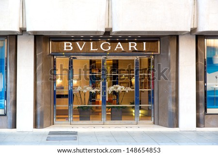 Bvlgari stock images royalty free images vectors for Jewelry stores in geneva switzerland