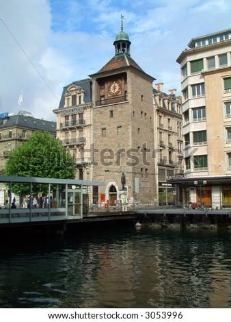Geneva Switzerland - stock photo