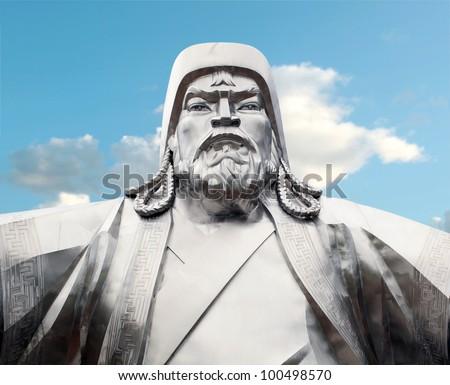 Genghis khan - stock photo