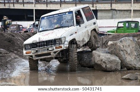 GENOA - MARCH 27: Spring Fair the Extreme 4x4 Event March 27, 2010 in Genoa, Italy - stock photo