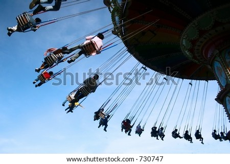 Genting Highland Spinner - stock photo