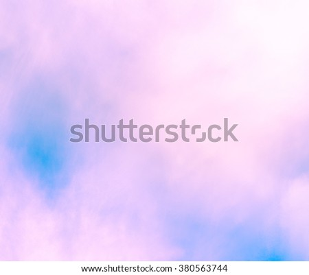 Gentle abstract background in light pastel tones, delicate and unusual. Lovely spring composition. Pastel abstract background. Feels like a blurred watercolor. The mood of spring,   harmony and joy. - stock photo