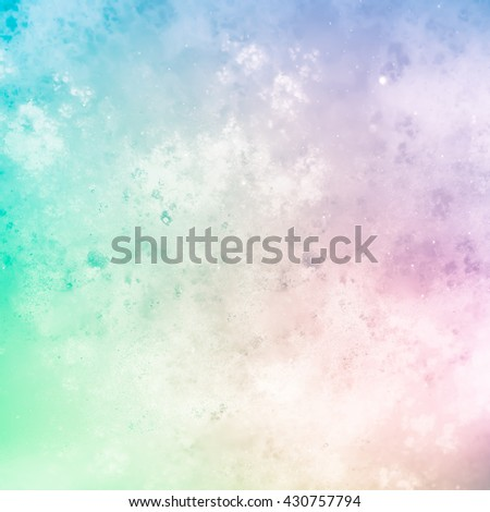 Gentle abstract background in light pastel tones, delicate and unusual. Very blurry textures. Texture similar to lightning sky. Heterogeneous grunge texture with blur and graininess - stock photo