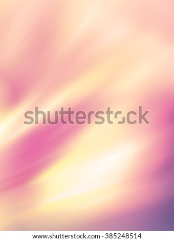 Gentle abstract background in light pastel tones.Lovely spring composition. Feels like a blurred watercolor. The mood of spring, harmony and joy. Texture with pearl highlights in shades of pink quartz - stock photo