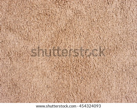 Genuine Leather and Suede, Brown. Macro, Close up. Concept and Idea of Fine Leather Crafting, Handmade Leather Handcrafted, Background Textured and Wallpaper.