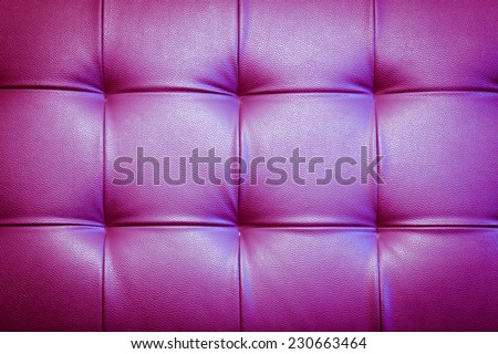 Genuine leather upholstery background for a luxury decoration in purple tones - stock photo