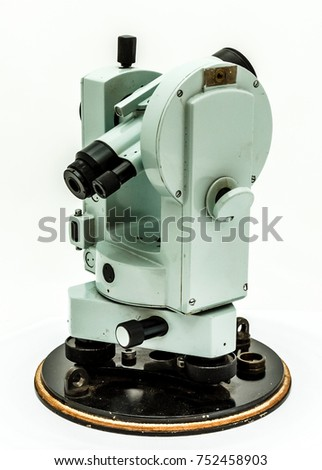 geodetic device optical theodolite