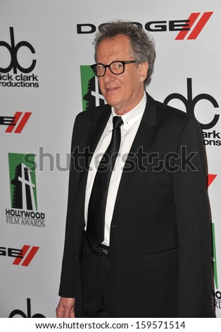 Geoffrey Rush at the 17th Annual Hollywood Film Awards at the Beverly Hilton Hotel. October 21, 2013  Beverly Hills, CA