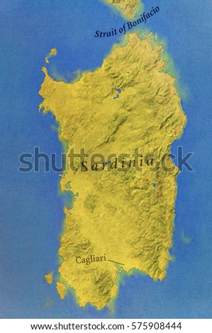 Map Of Cagliari Stock Images RoyaltyFree Images Vectors