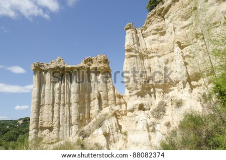 geological erosion in France