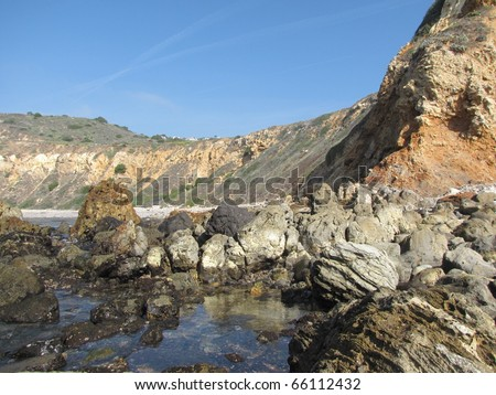 Geology at Point Vicente, Rancho Palos Verdes, CA