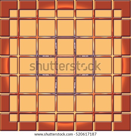geometric background with  squares