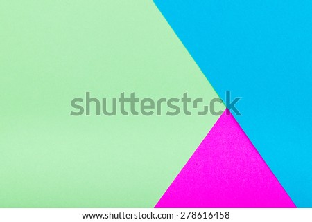 Geometric Colorful Papers - stock photo