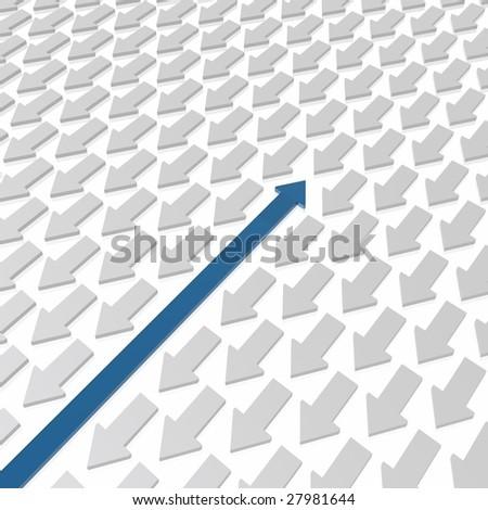 geometric design - stock photo