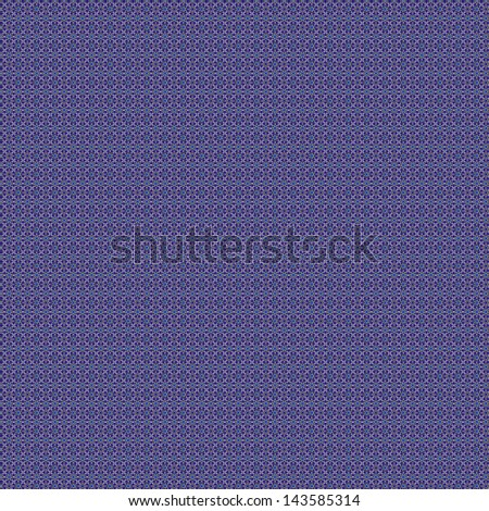 Geometric design with sharp, crisp lines like a stained glass window. The bright blue and purple contrasts with the black and white. Tiles seamlessly into projects, would make nice background/accent. - stock photo