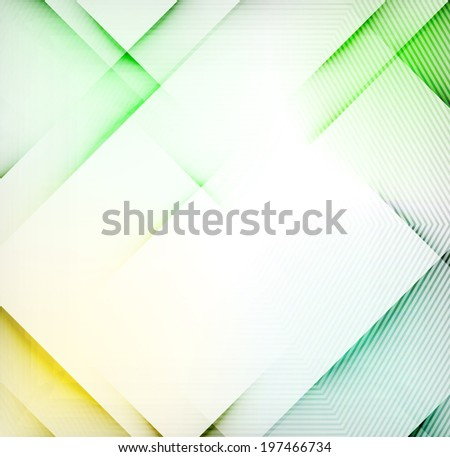 Geometric diamond shape abstract background - hi-tech corporate blank design template - stock photo