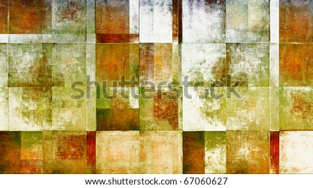 geometric grunge background - stock photo
