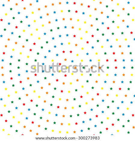 Geometric modern  pattern. Fine texture with round dotted colorful elements