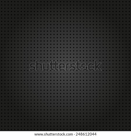 Geometric modern  seamless pattern. Repeating texture with black dotted elements