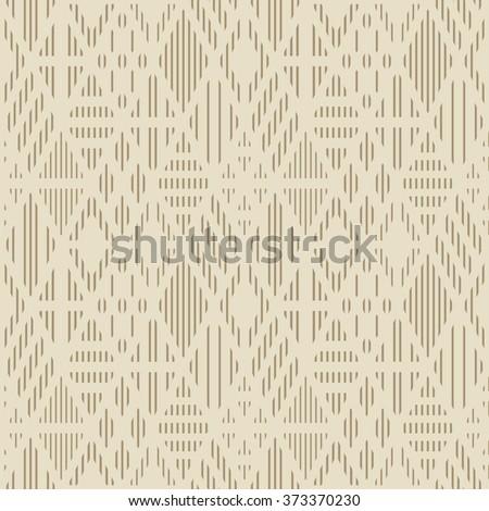 Geometric pattern with line rhombuses. Raster version. - stock photo