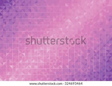 Geometric Purple Backgrounds.  - stock photo