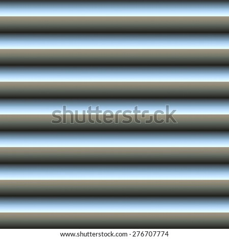 Geometric Seamless Pattern 3D Bitmap Illustration - stock photo