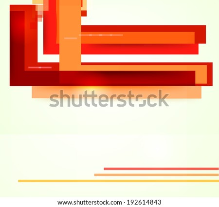 geometrical abstract background ,raster version
