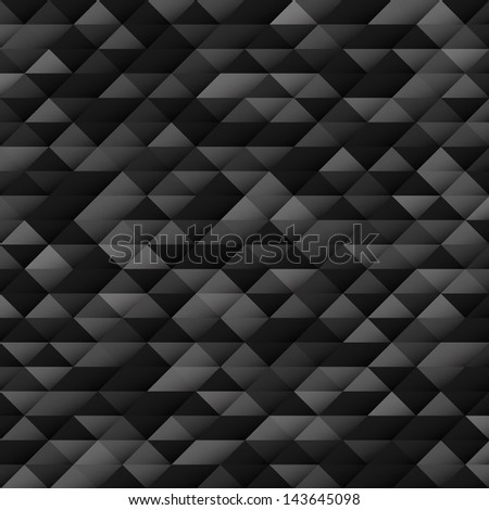 Geometrical background with triangles