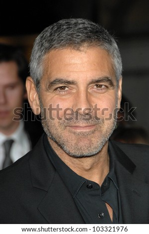 "George Clooney at the  ""Up In The Air"" Los Angeles Premiere, Mann Village Theatre, Westwood, CA. 11-30-09"