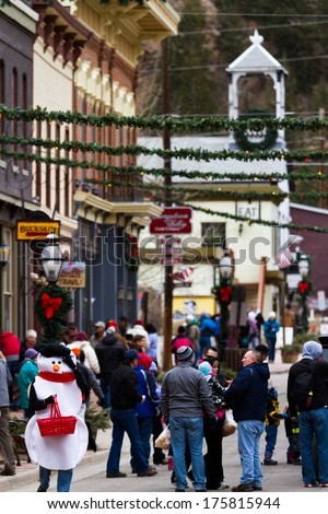 Georgetown Christmas Market Stock Images, Royalty-Free Images ...