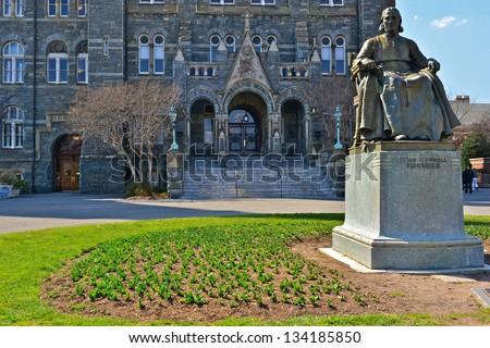 Georgetown University, Washington DC, United States - stock photo