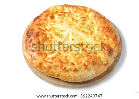 Georgian cuisine - khachapuri with cheese