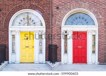 Georgian doors in Dublin & Georgian Door Stock Images Royalty-Free Images u0026 Vectors ... pezcame.com